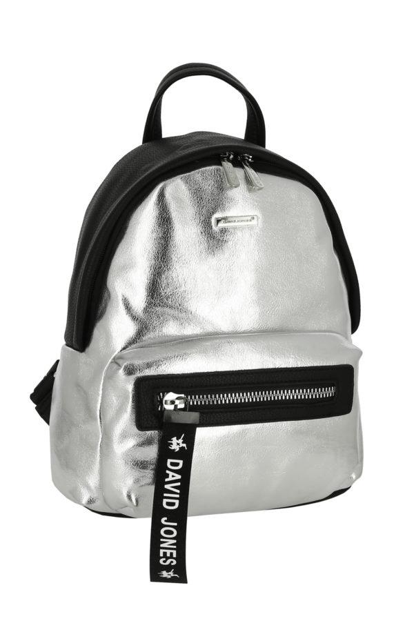 Рюкзак женский David Jones 5970-4 серебро
