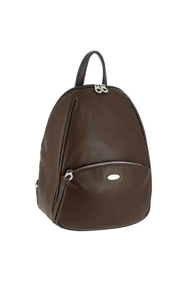 Рюкзак женский David Jones СМ5604 т.коричневый
