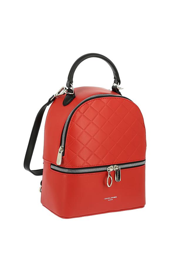 Рюкзак женский David Jones 6516-2 красный