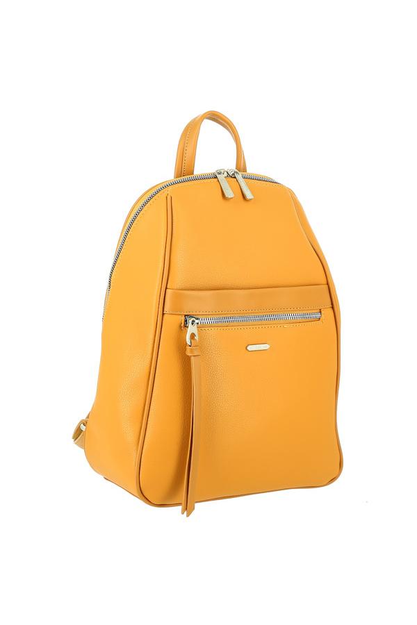 Рюкзак женский David Jones СМ 6025 желтый