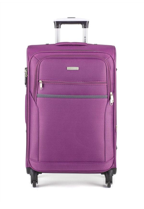Чемодан 4 ROADS 6168 (28) пурпурный