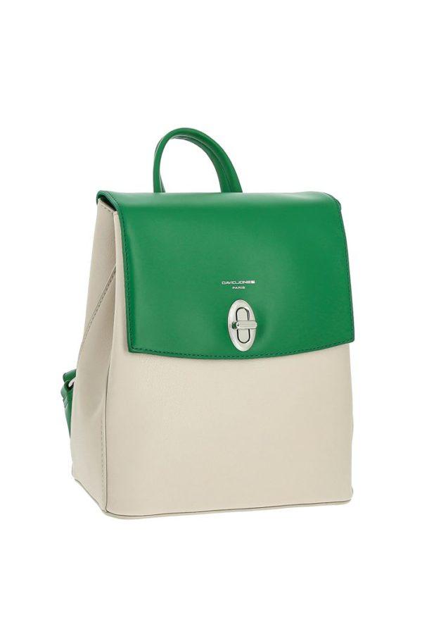 Рюкзак женский David Jones CM6068 Зеленый