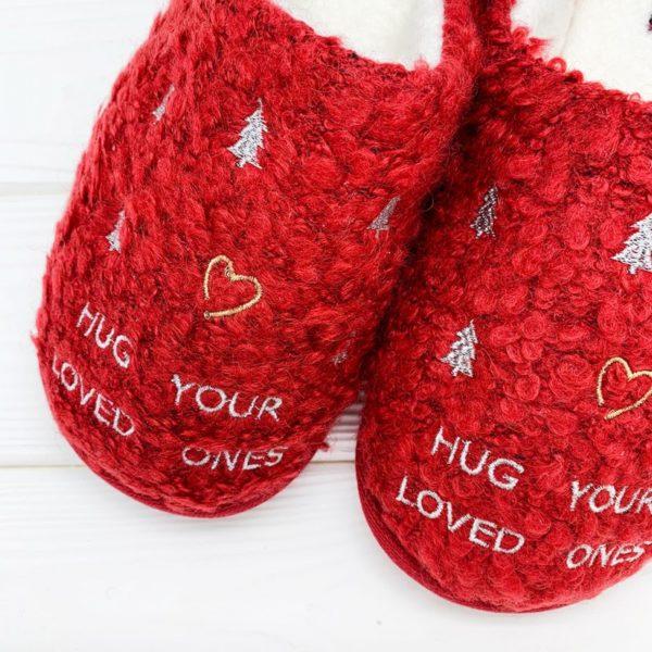 Тапочки «Hug your loved ones» (р.36-37) H1045