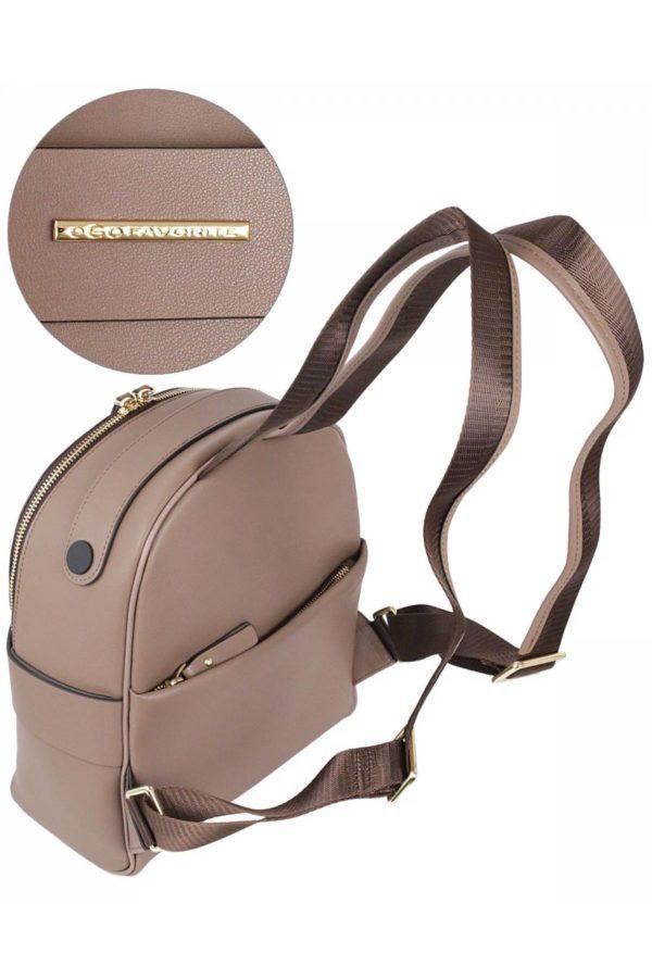 Рюкзак женский Ego Favorite 26-0952 светло-коричневый