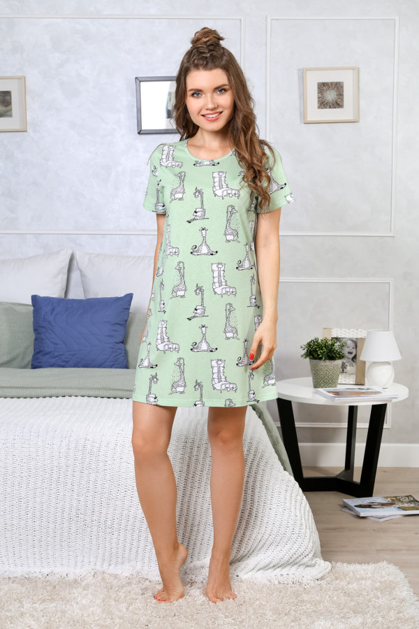 Сорочка Жирафы-1